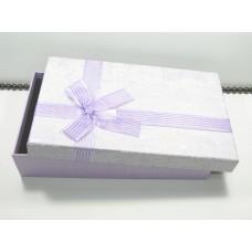 Подарочная упаковка большая Сиреневый бант 0831