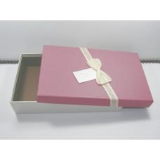 Подарочная упаковка большая Бордовая 0833