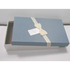 Подарочная упаковка большая Синяя 0832