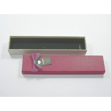 Подарочная упаковка бордовая 0835