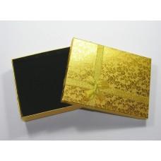 Подарочная упаковка Золотистая 0814